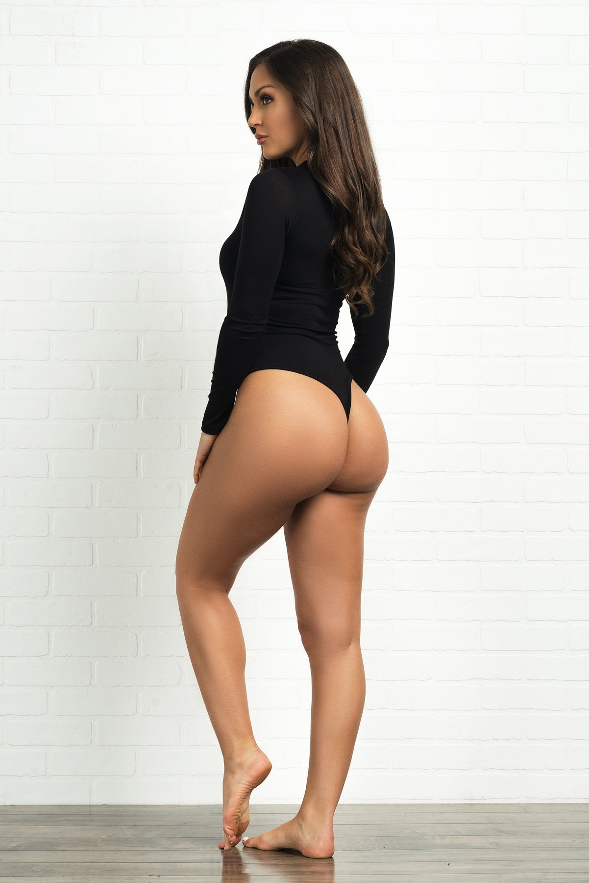 Khloe Bodysuit - Black