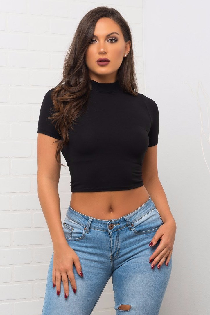 Analie Top- Black