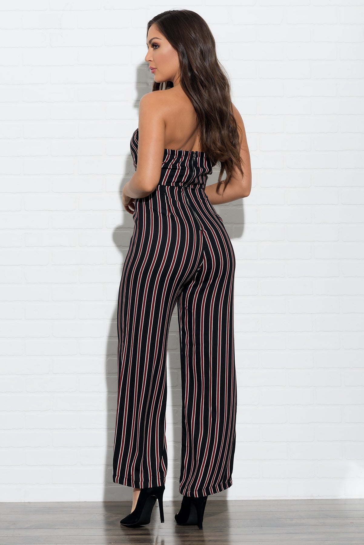 Emery Striped Jumpsuit