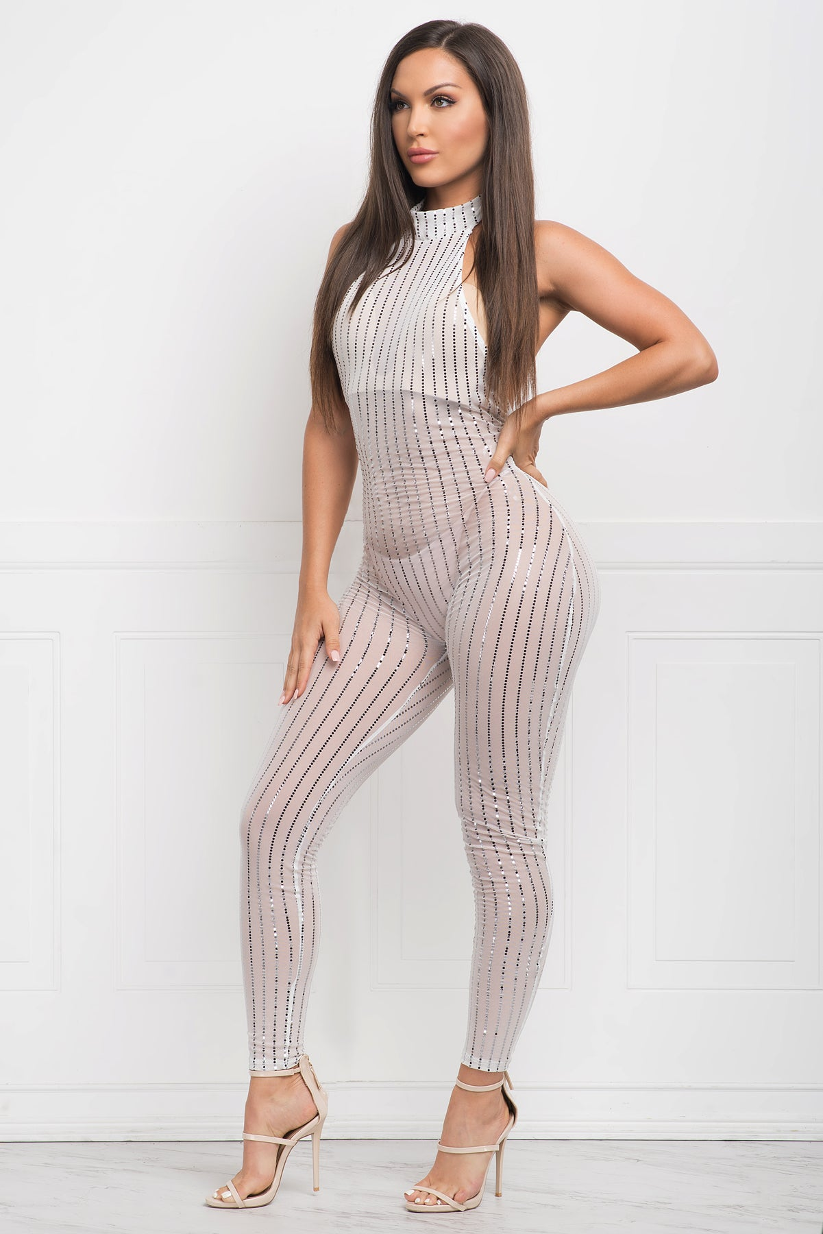 Nikki Jumpsuit - White