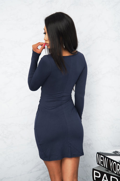 Sadie Dress - Navy Blue