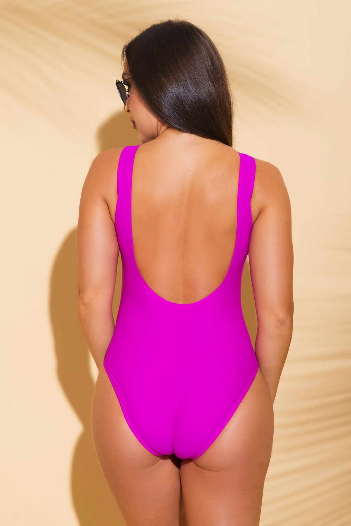 Relax One Piece Swimsuit Purple