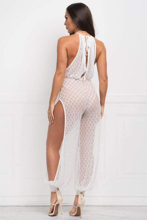 Abigail Jumpsuit - White