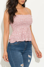 The Sweetest Top Pink Mauve/Ivory