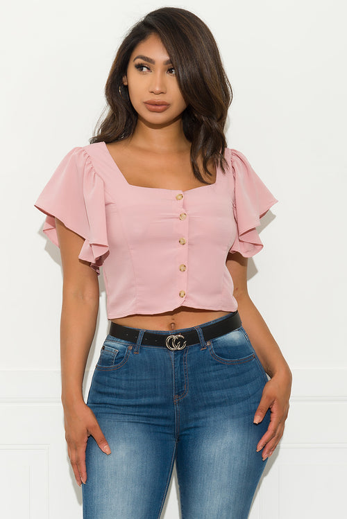 Dream Follower Top - Blush
