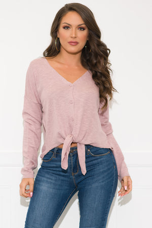 Tracy Sweater - Dusty Pink