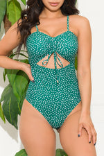 Willow Cove One Piece Swimsuit Green