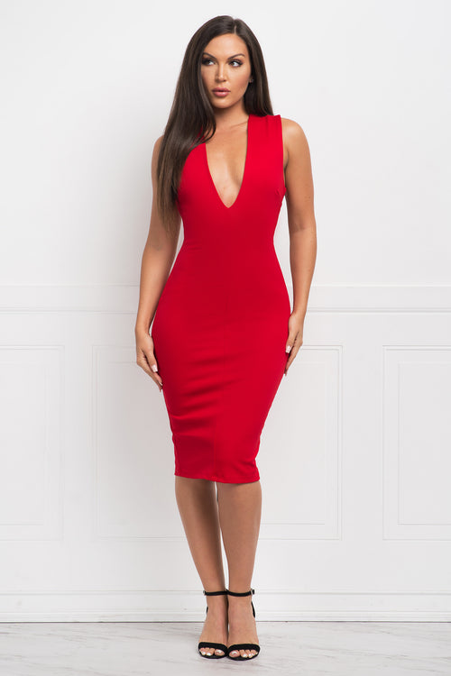 Love At First Sight Dress - Red
