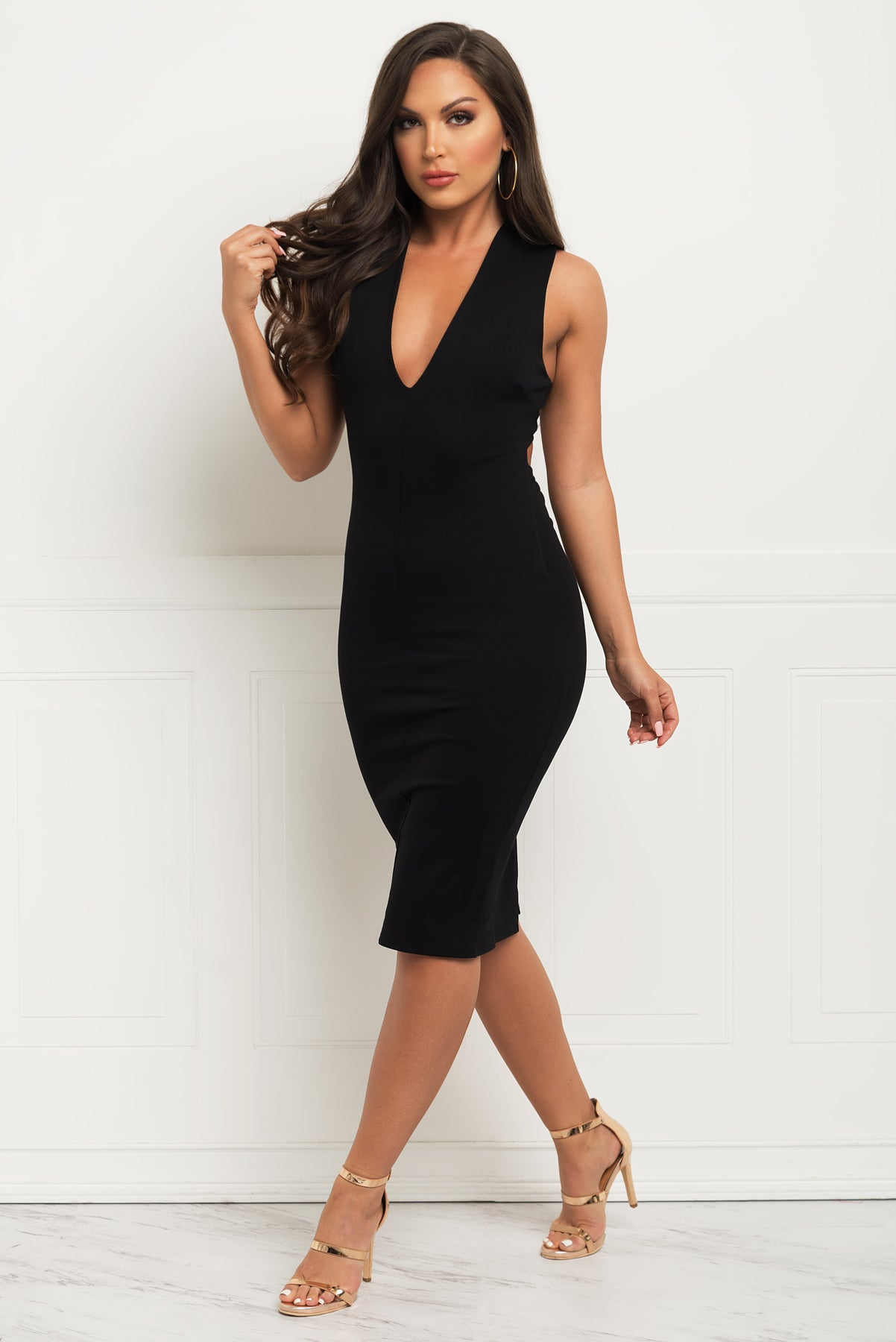 Love At First Sight Dress - Black