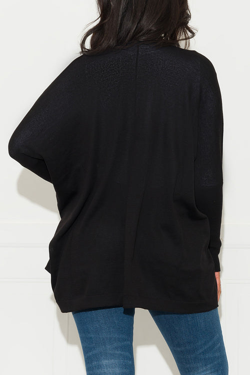 Looking For You Cardigan Sweater Black