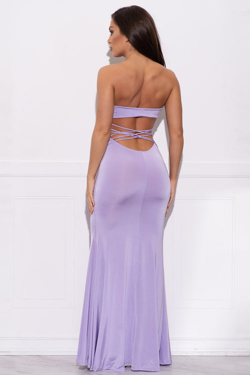 Shayla Dress - Lavender