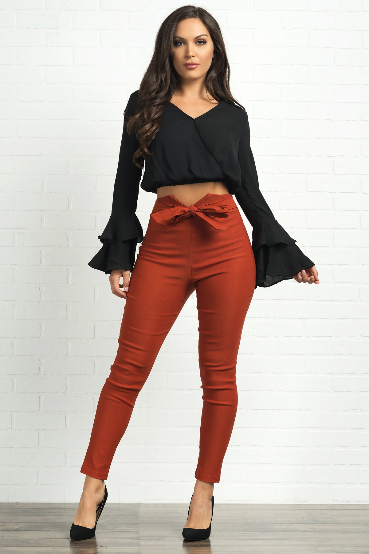 Lucynda Blouse - Black