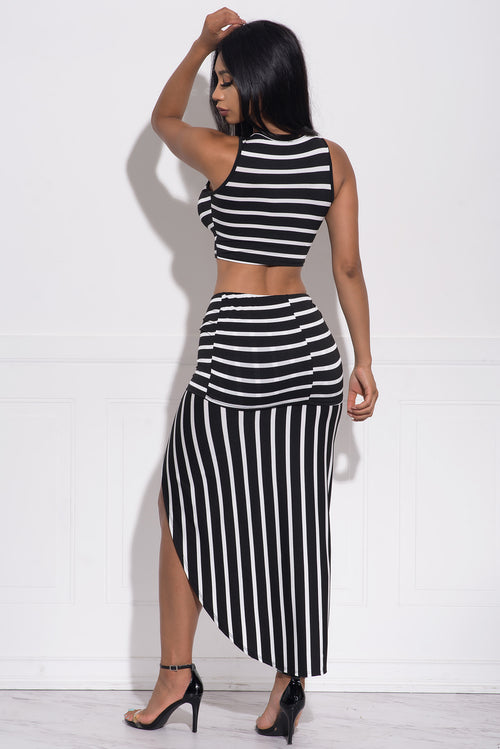 Ella Striped Two Piece Set