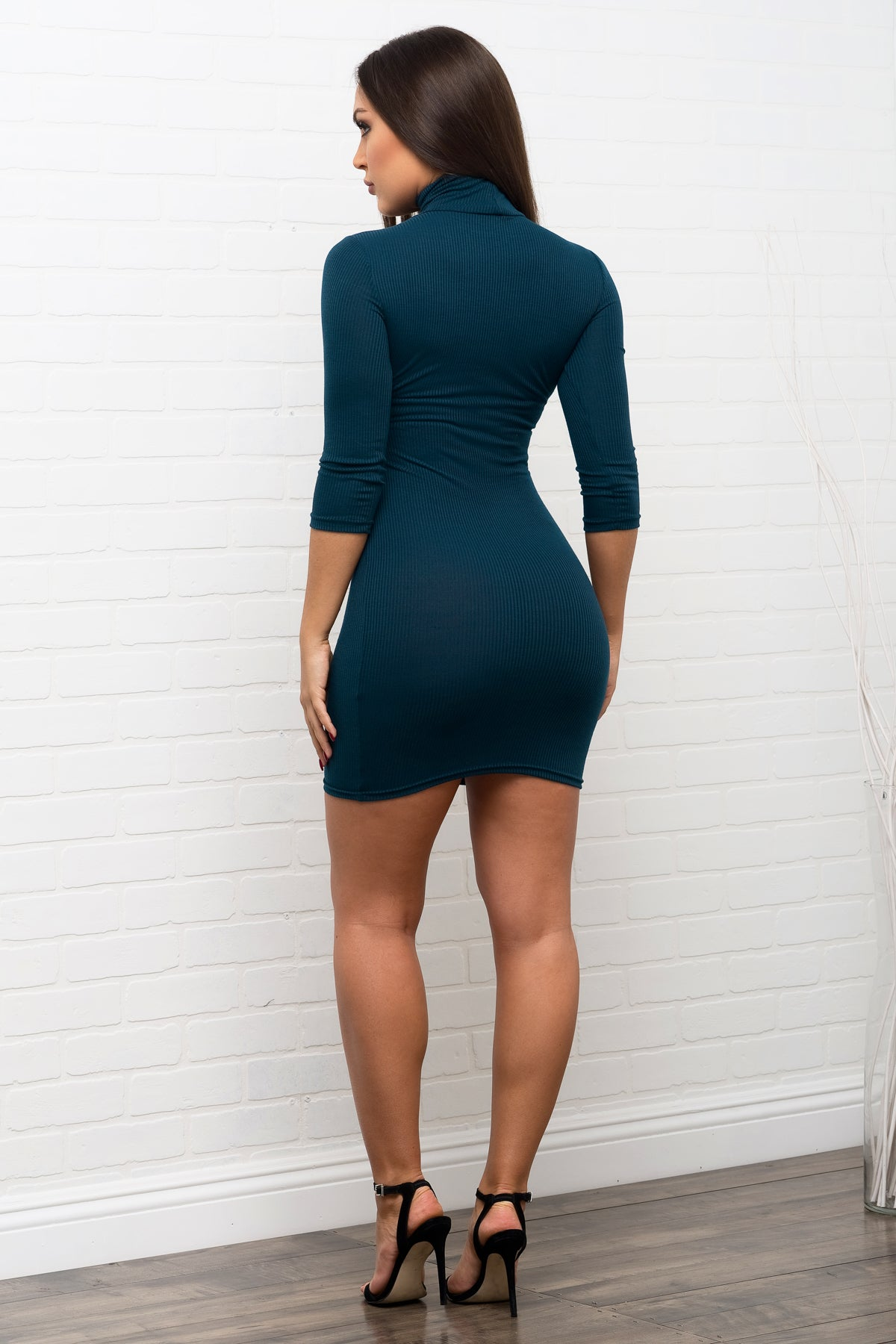 Whitney Dress - Teal