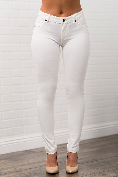 London Pants - White