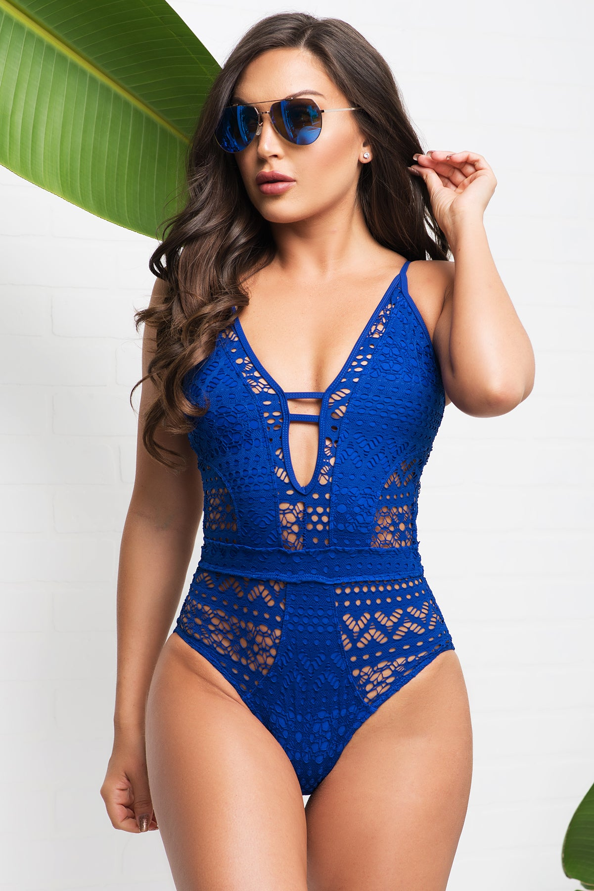 ce42f26afc9 Belle Mare One Piece Swimsuit - Royal Blue – Fashion Effect Store