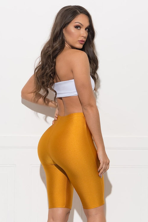 Baylin Shorts - Yellow