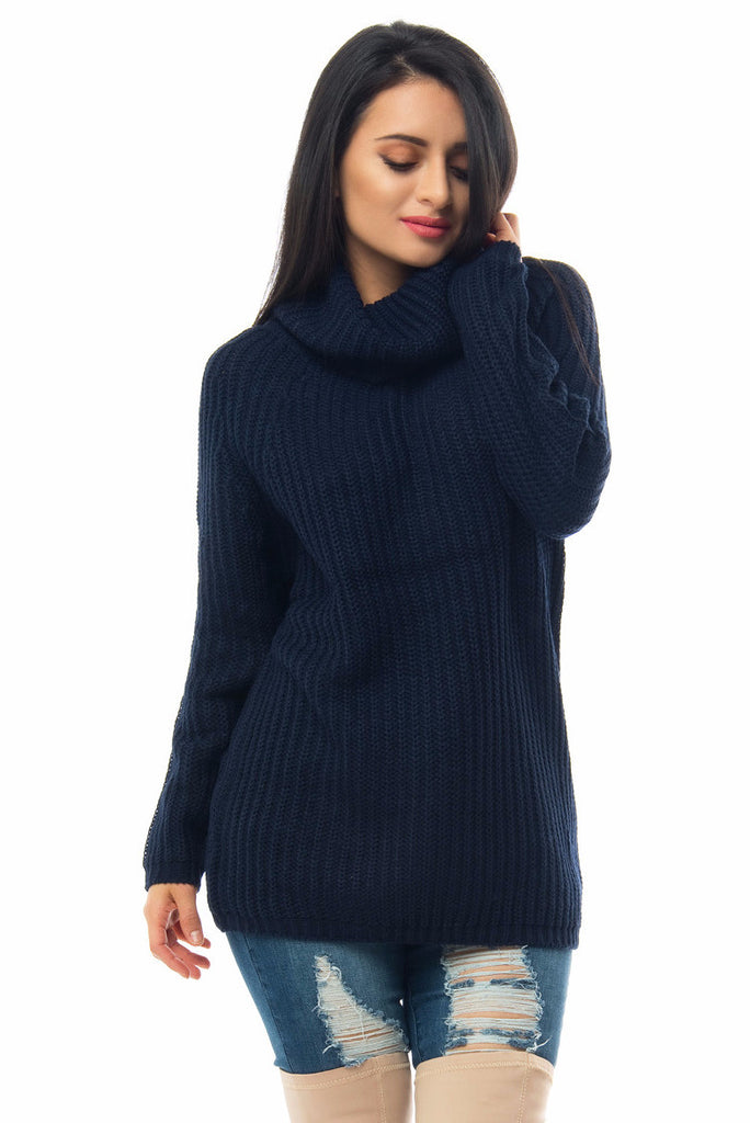 Sweater Weather Navy Blue - Fashion Effect Store  - 1