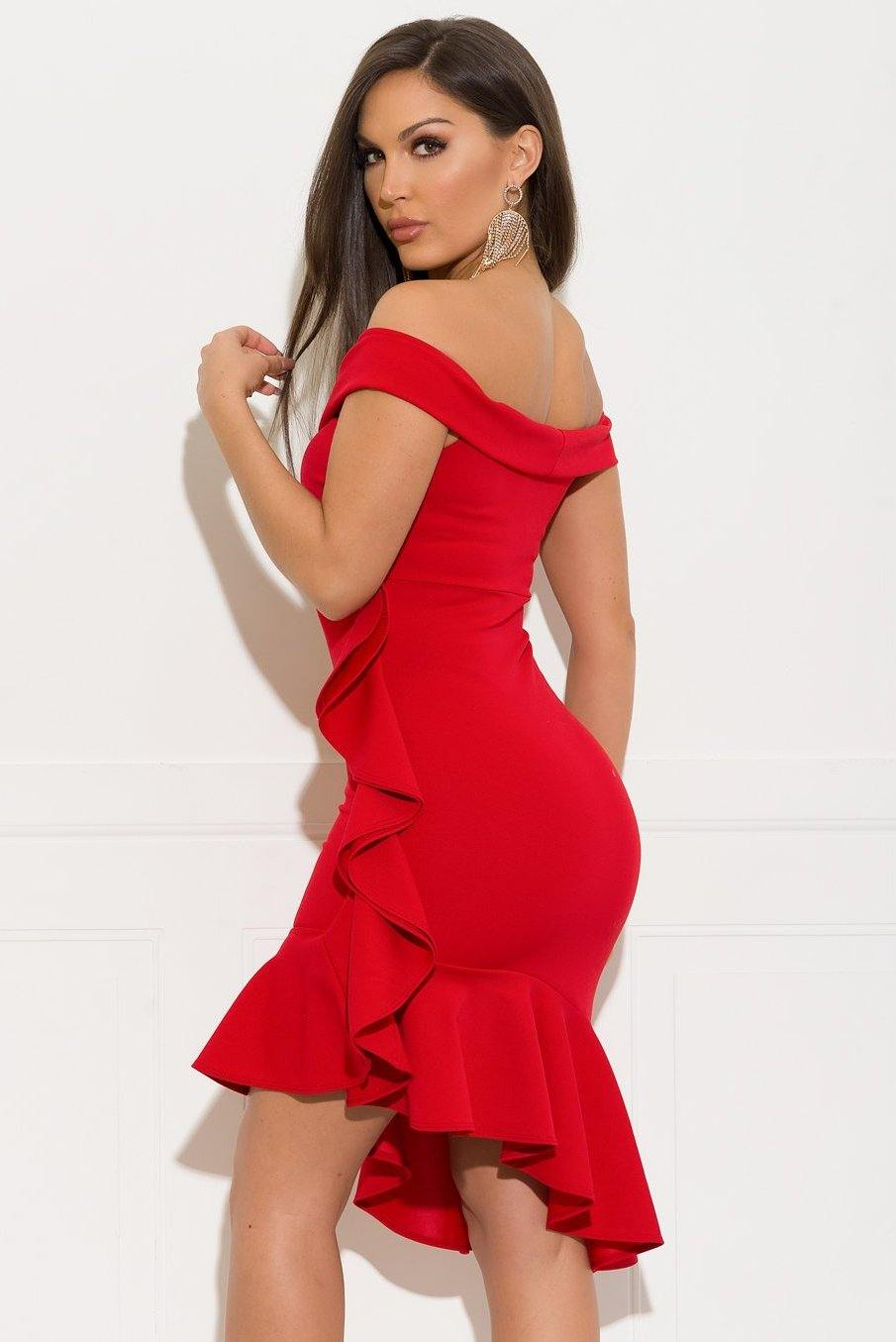 Alessia Dress - Red