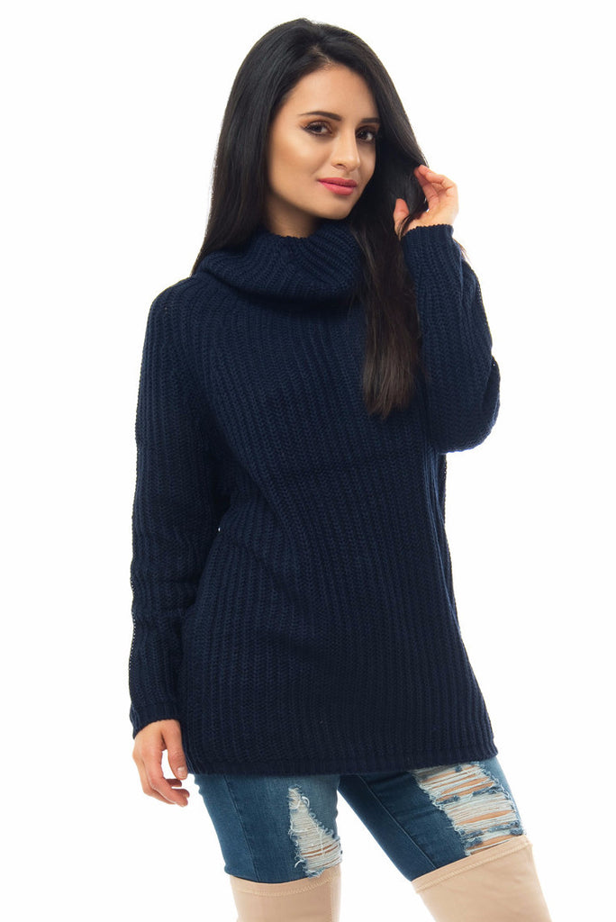 Sweater Weather Navy Blue - Fashion Effect Store  - 3