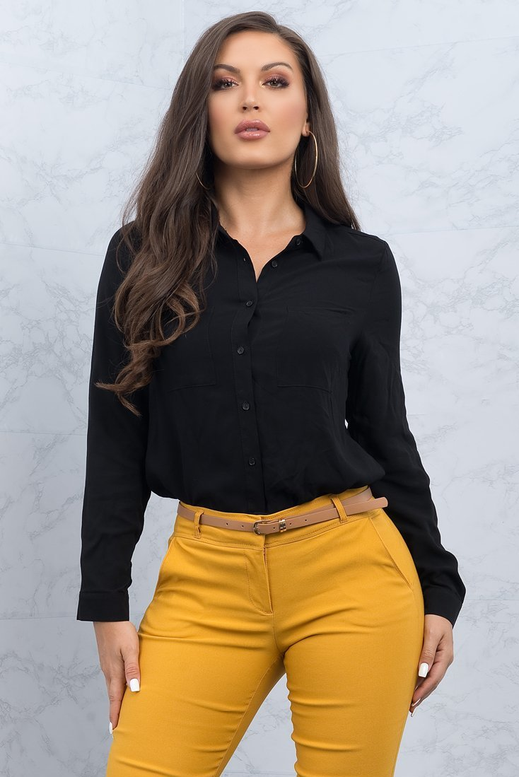 Gabriella Blouse - Black