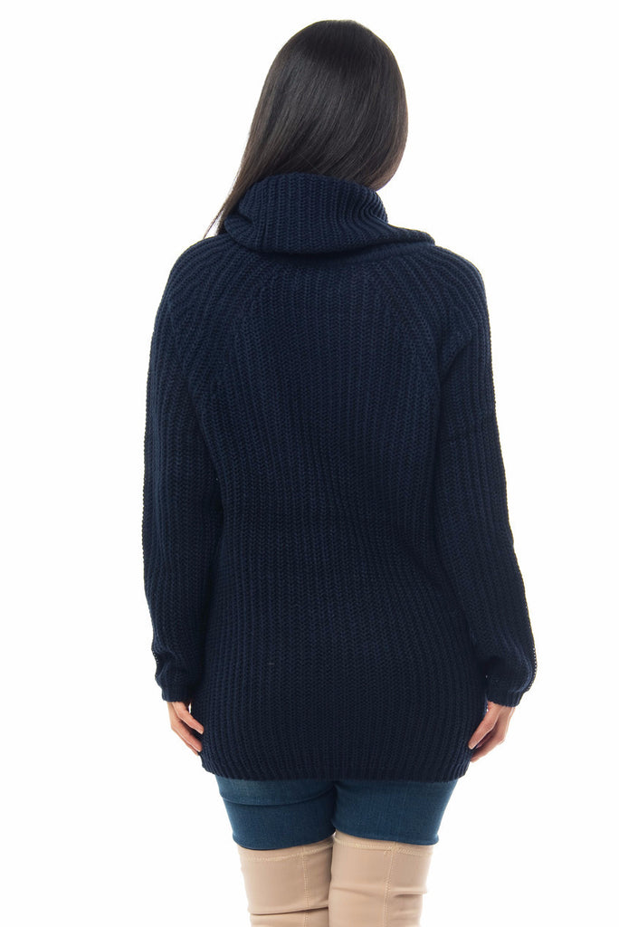 Sweater Weather Navy Blue - Fashion Effect Store  - 2