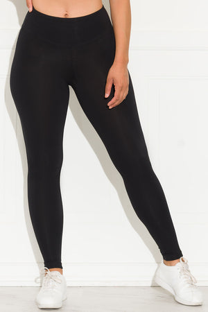 New Rules High Waisted Leggings Black