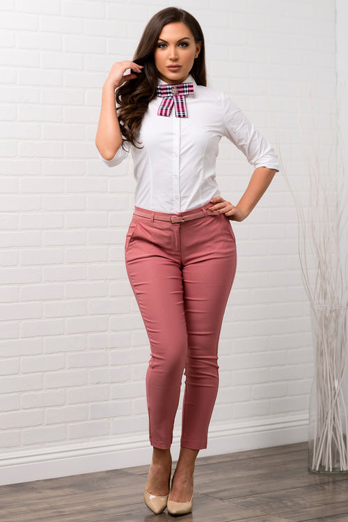 Get Down To Business Pants - MAUVE