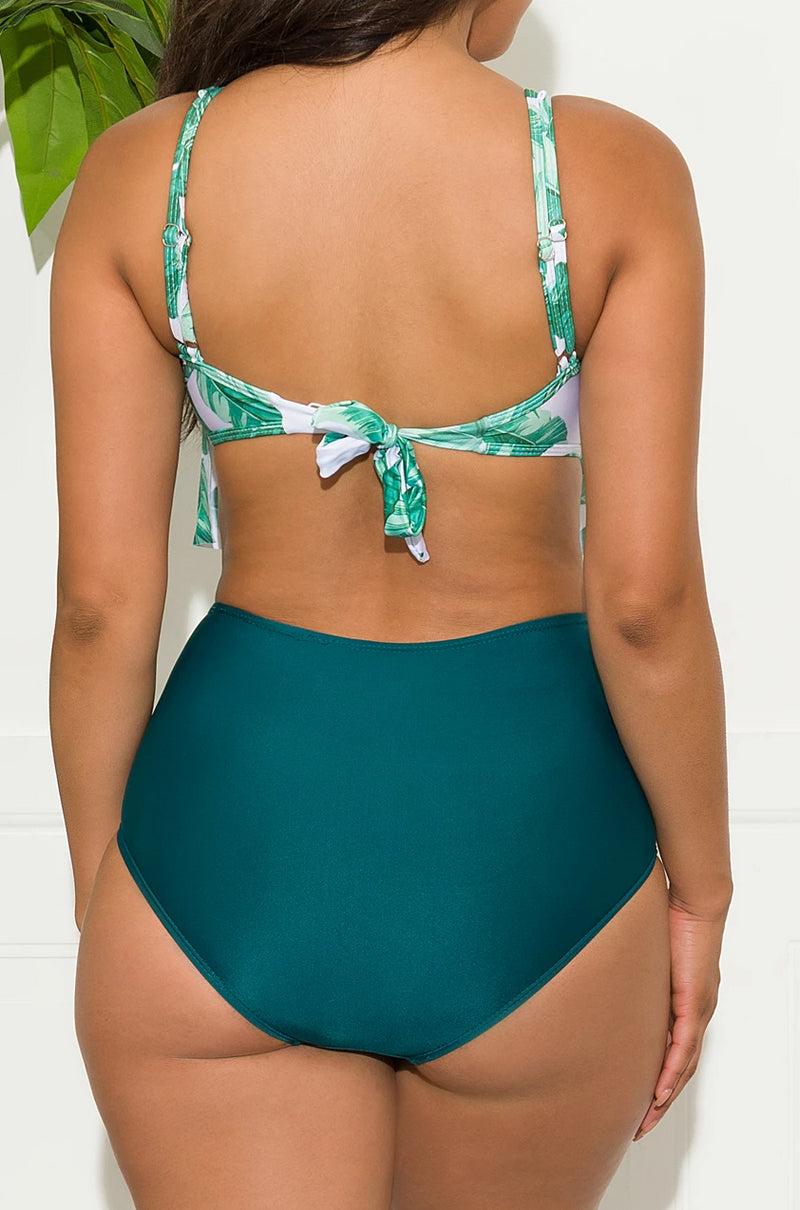 North Palm Beach Two Piece Swimsuit Green