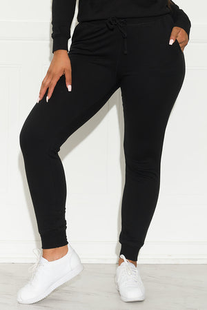 Set You On Track Jogger Black