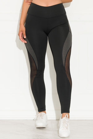 Always Fit Leggings Black and Grey