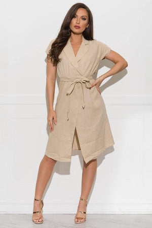 Alayna Dress Khaki