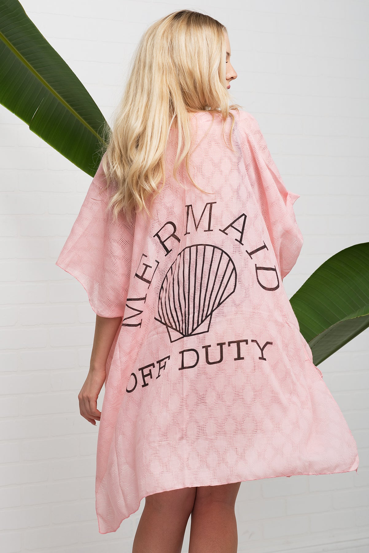 Mermaid Off Duty Cover Up