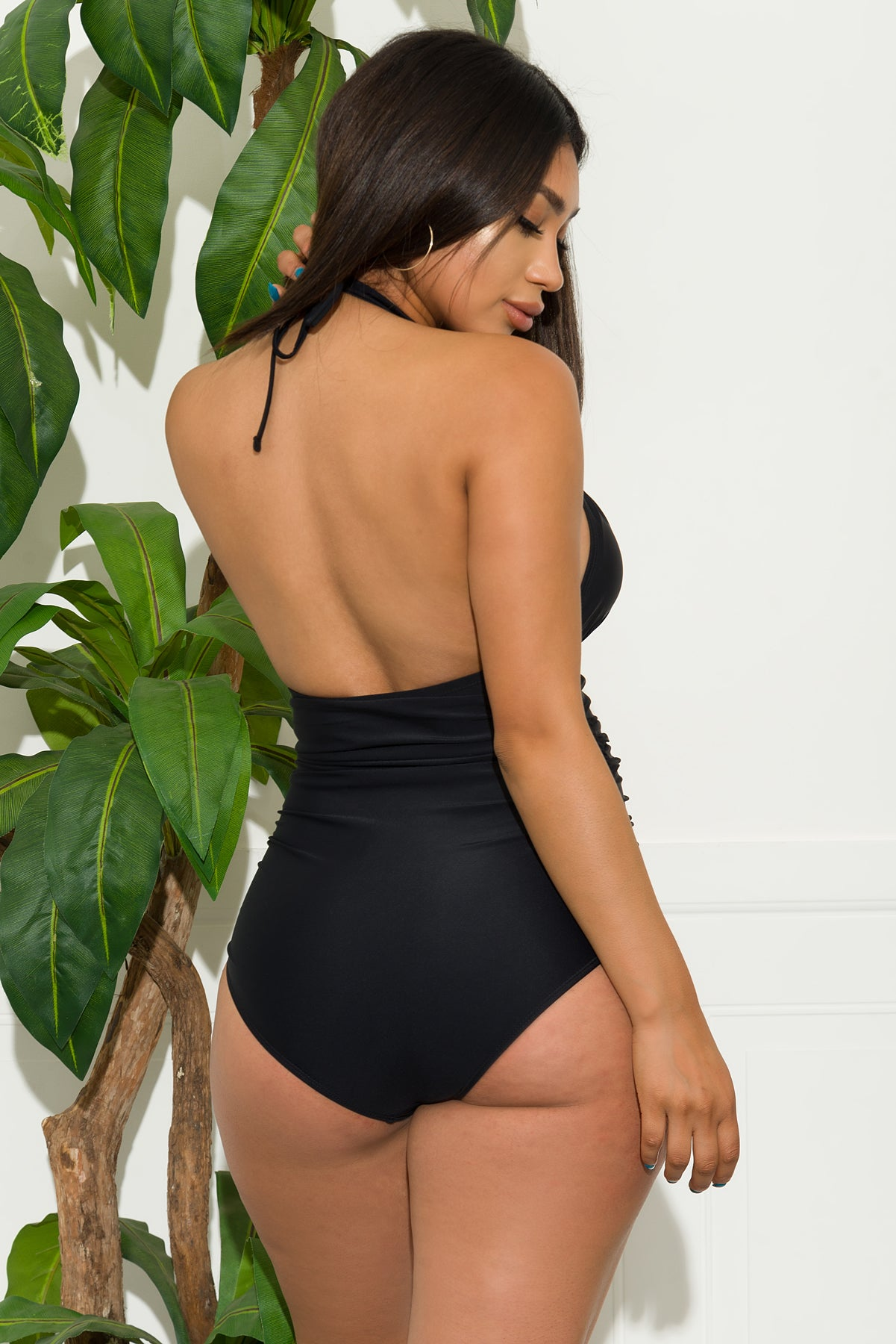 Paradise Coast One Piece Swimsuit-Black