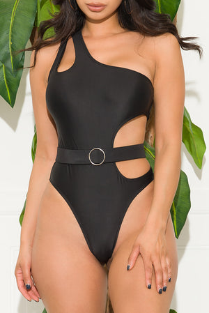 Mantra  Beach  One Piece Swimsuit Black