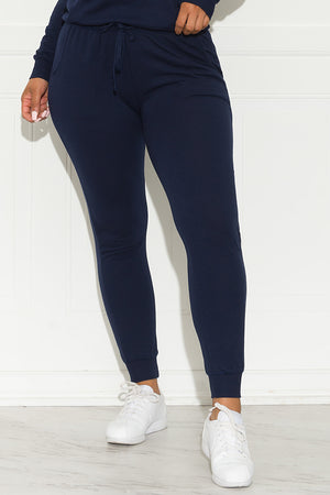 Set You On Track Jogger Navy