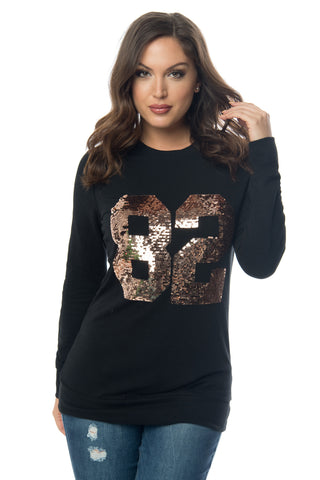 Jayce Sequin Sweater - Fashion Effect Store  - 1