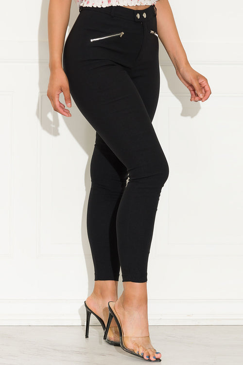 Most Wanted  Pants Black