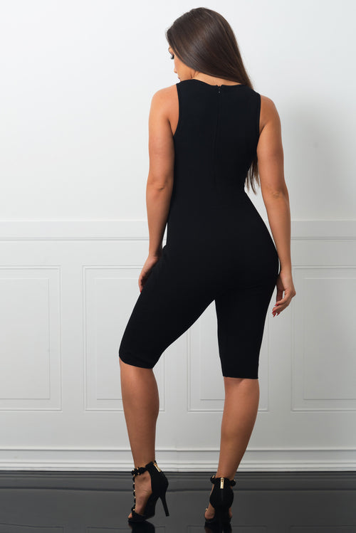 Audrina Black Jumpsuit