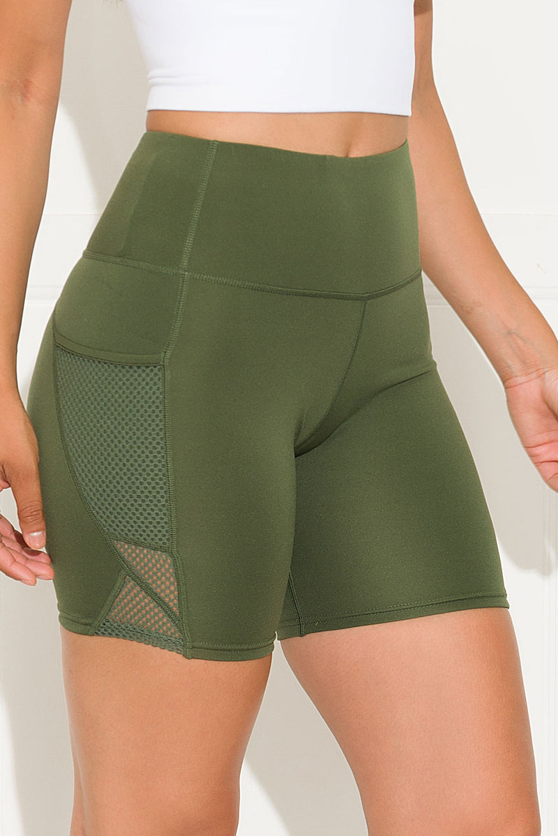 Good Choice Biker Short Olive