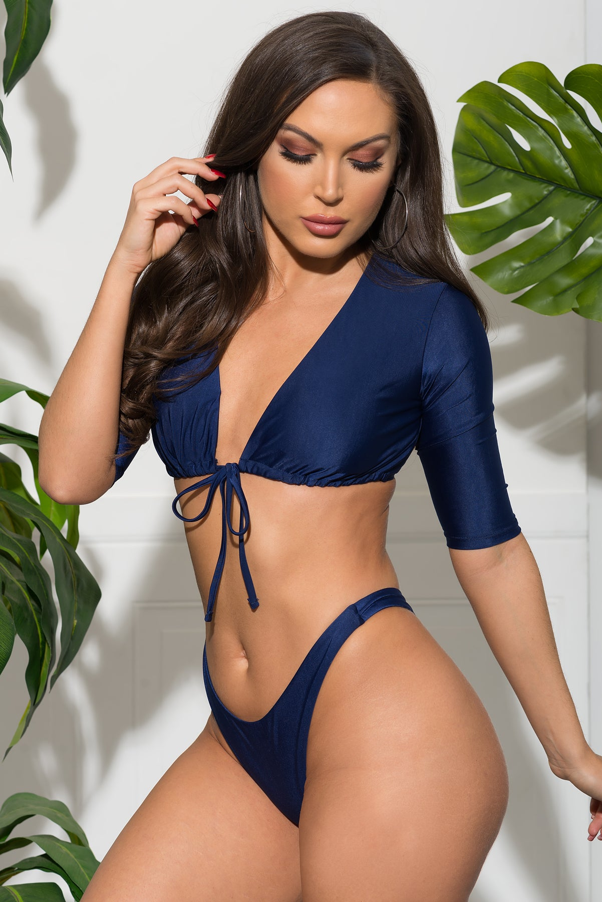 Punta Cana Two Piece Swimsuit - Navy