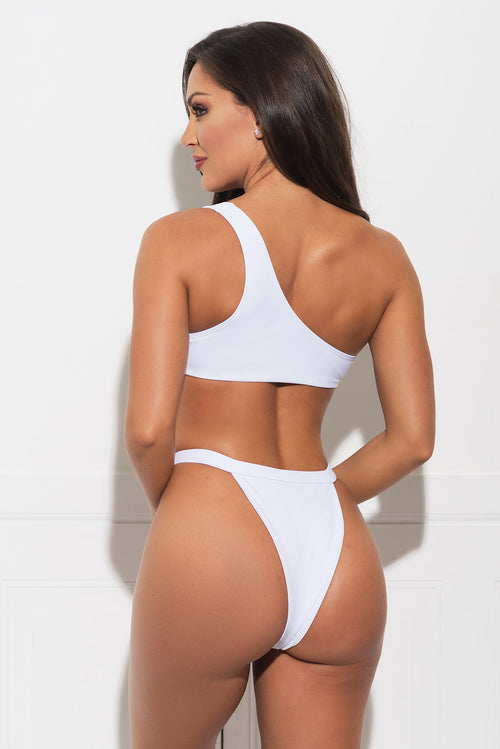 Honey Beach Two Piece Swimsuit - White