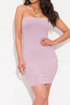 Break It Down Dress Mauve