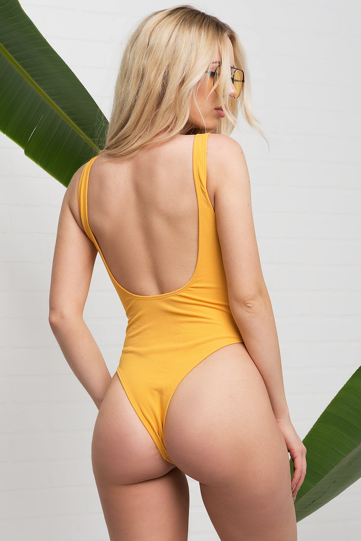 PARADISE COVE Swimsuit - Yellow