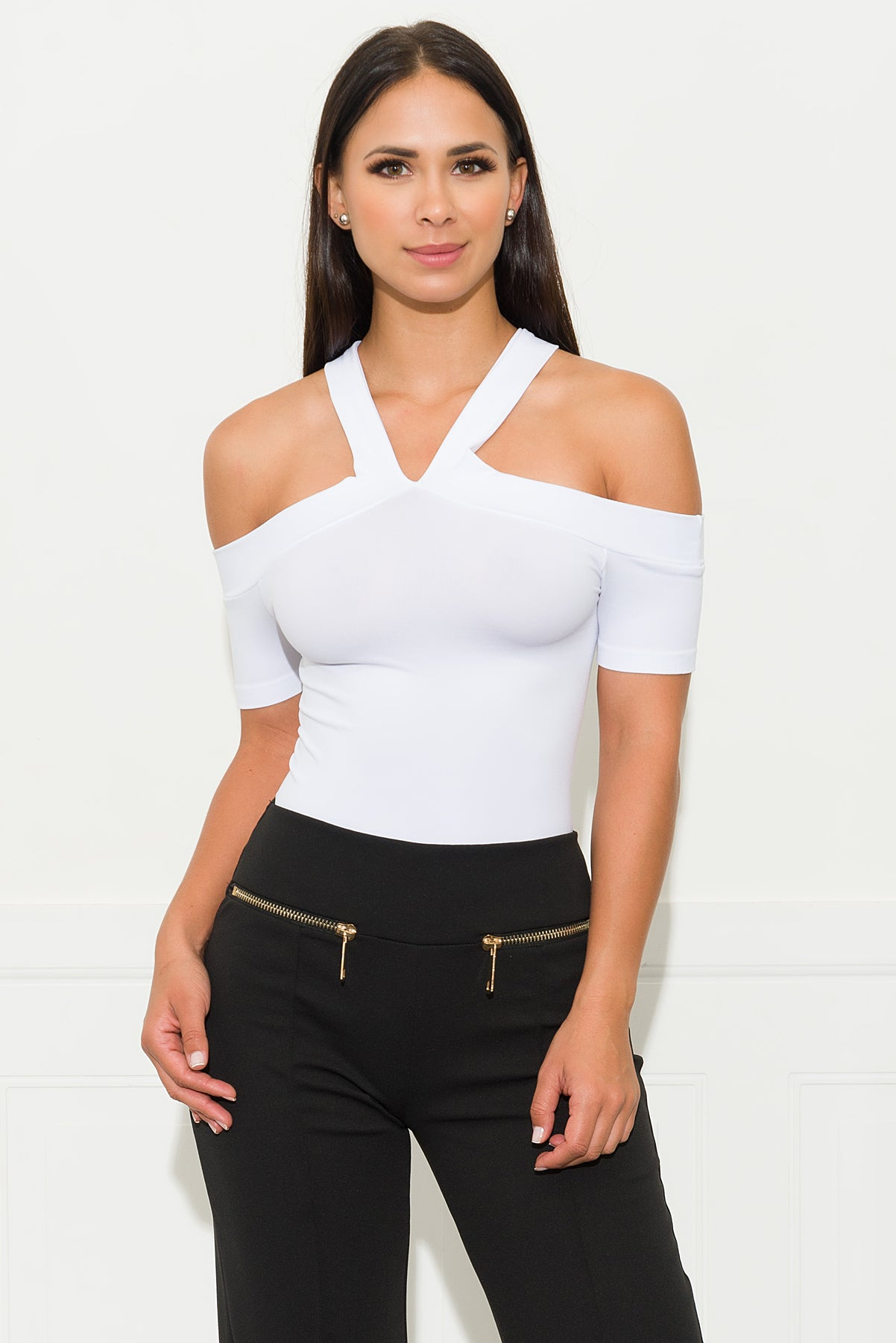 Take Me With You Top - White