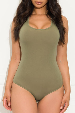 Sweet Talk Bodysuit Olive