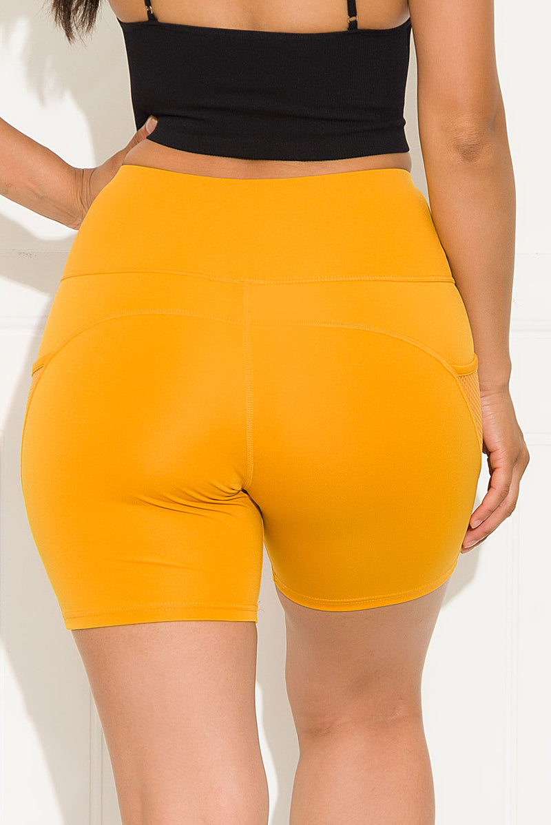 Good Choice Biker Short Mustard