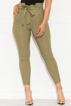 Keep It Moving Pants Army Olive