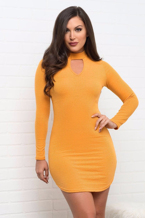 Rayne Dress - Yellow