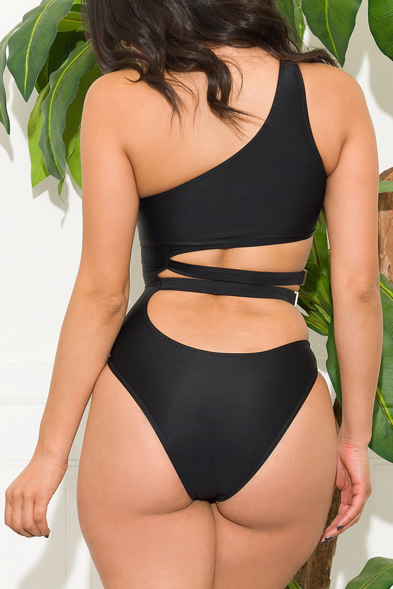 Cozumel One Piece Swimsuit Black
